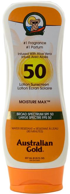 Australian Gold SPF 50 Lotion Sunscreen - Moisture Max (8 fl. oz. / 237 mL)