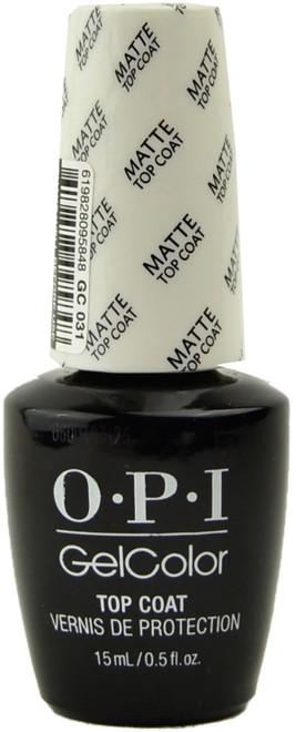 OPI GelColor Matte Top Coat (UV / LED Polish)