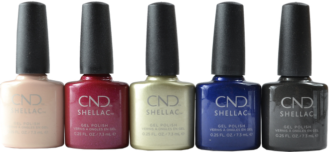 Cnd Shellac 5 pc Crystal Alchemy 2019 Collection