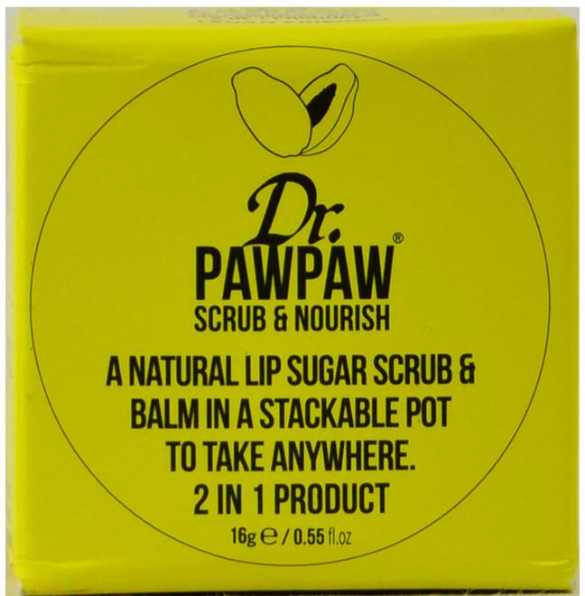 Dr. Paw Paw Scrub & Nourish Lip Scrub And Balm (16 g / 0.55 fl. oz.)