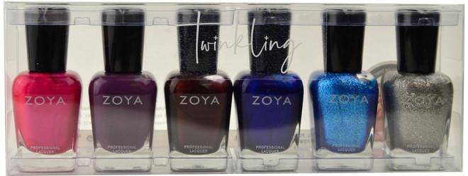 Zoya 6 pc Twinkling Collection B