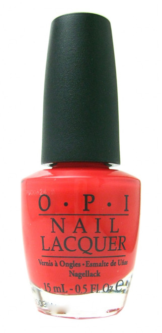 OPI Red Lights Ahead...Where? nail polish