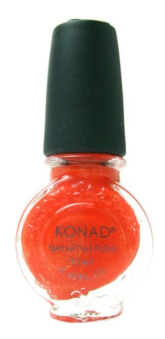 Orange Pearl (Special Polish) by Konad Nail Art