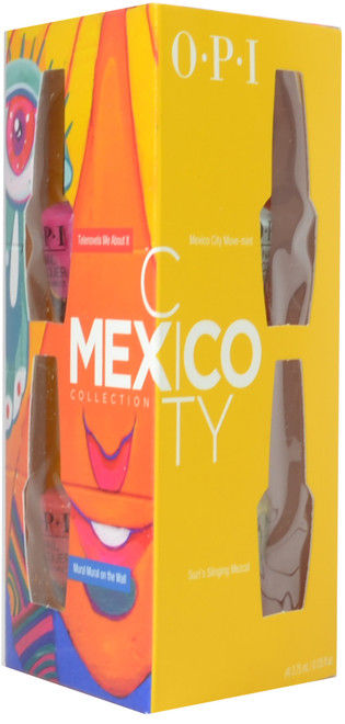 OPI 4 pc Mexico City Mini Set