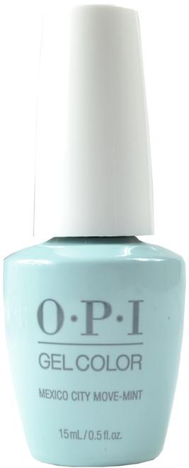 OPI Gelcolor Mexico City Move-mint (UV / LED Polish)