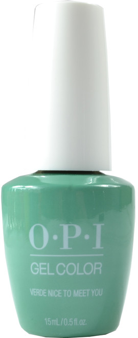 OPI Gelcolor Verde Nice to Meet You (UV / LED Polish)