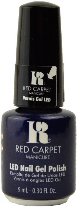 Red Carpet Manicure Past Midnight (UV / LED Polish)