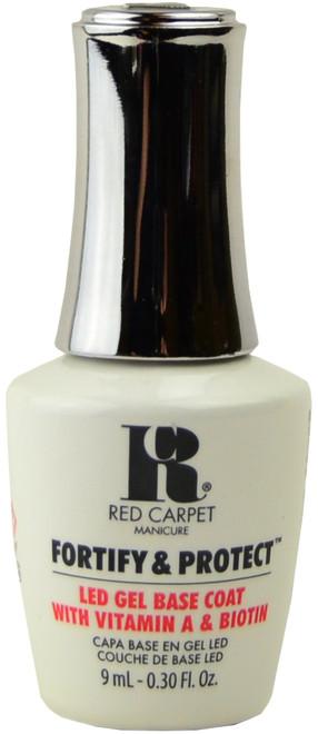 Red Carpet Manicure Fortify & Protect Base Coat (UV / LED Polish) (0.3 fl. oz. / 9 mL)