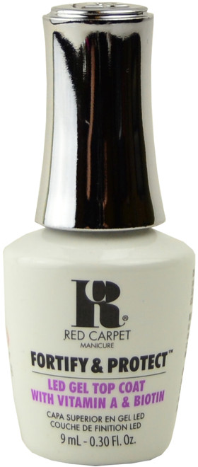 Red Carpet Manicure Fortify & Protect Top Coat (UV / LED Polish) (0.3 fl. oz. / 9 mL)