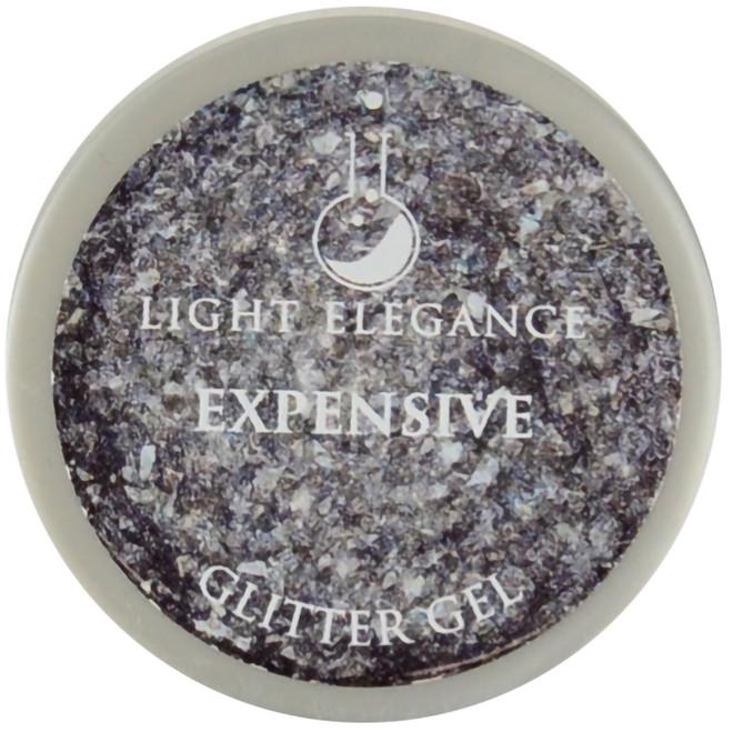 Light Elegance Expensive Glitter Gel (UV / LED Gel)
