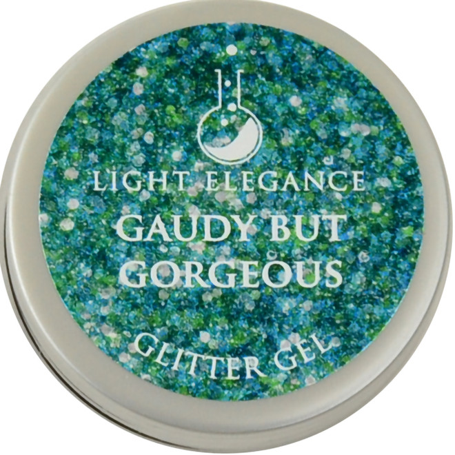 Light Elegance Gaudy but Gorgeous Glitter Gel (UV / LED Gel)