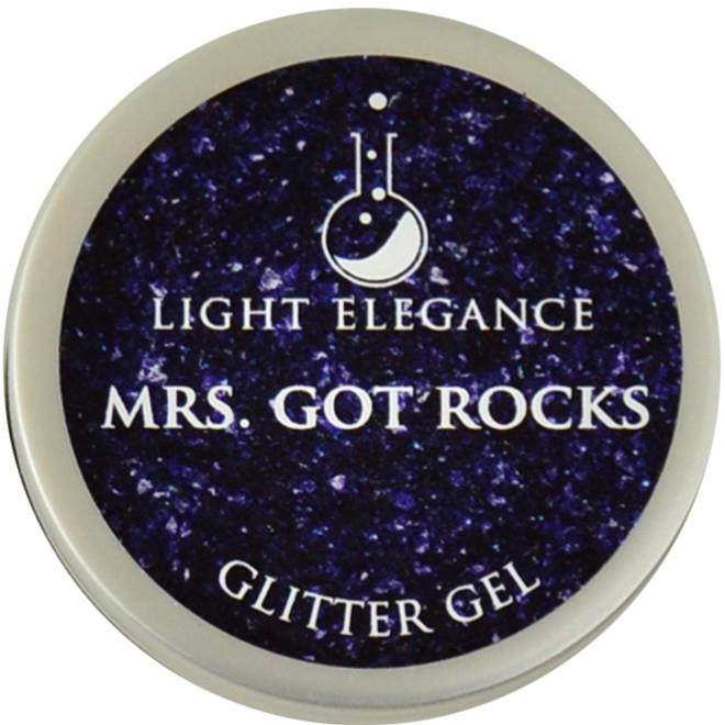 Light Elegance Mrs. Got Rocks Glitter Gel (UV / LED Gel)