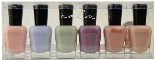 Zoya 6 pc Calm Collection