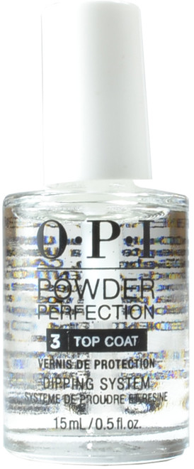 OPI Powder Perfection Step 3 Top Coat Powder Perfection (0.5 fl. oz. / 15 mL)