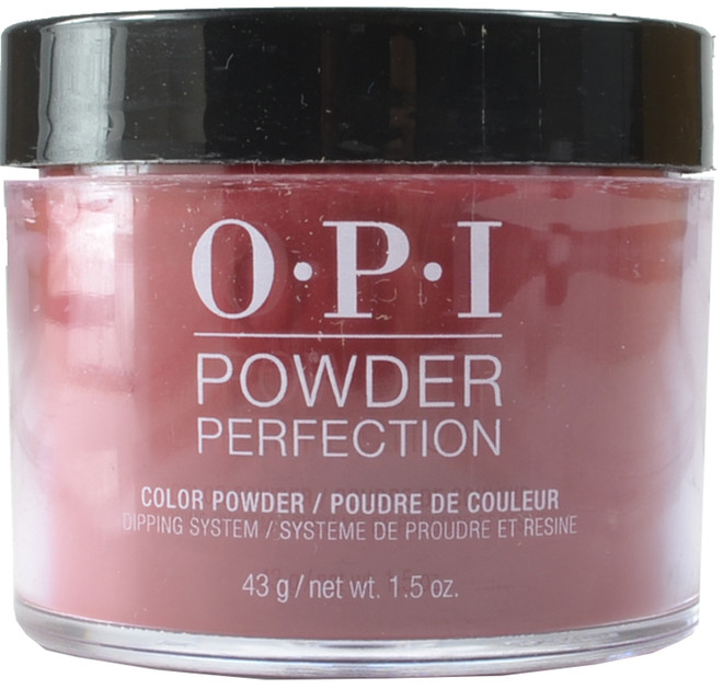 OPI Powder Perfection Got the Blues for Red