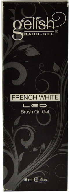 Gelish French White Hard-Gel Brush On Gel (UV / LED)