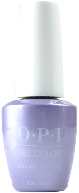 OPI Gelcolor Just A Hint Of Pearl-ple (UV / LED Polish)