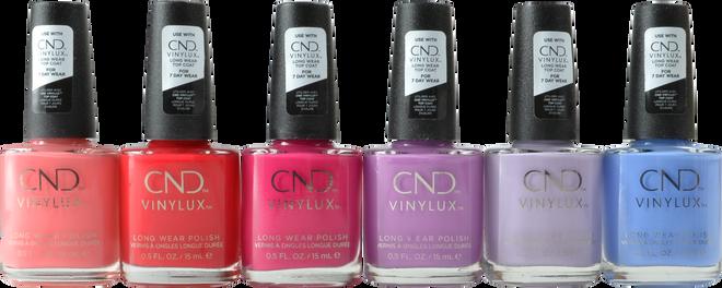 Cnd Vinylux 6 pc Nauti Nautical Collection