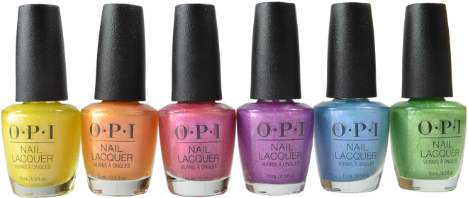 OPI 6 pc Hidden Prism Collection