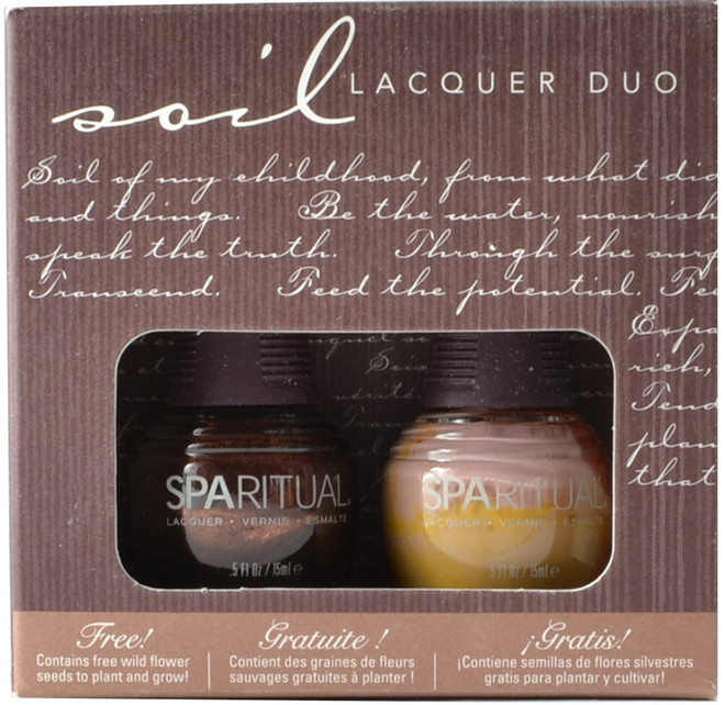Spa Ritual 2 pc Soil Lacquer Duo