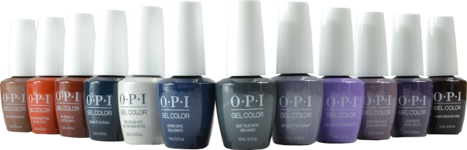 OPI Gelcolor 12 pc Muse of Milan Collection