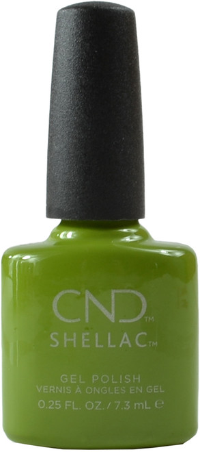CND Shellac Crisp Green (UV / LED Polish)