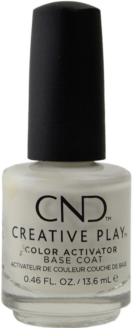 CND Creative Play Color Activator Base Coat (0.46 fl. oz. / 13.6 mL)