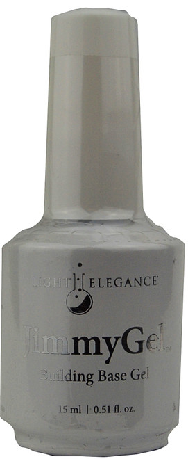 Light Elegance JimmyGel Soak Off Building Base Gel (0.51 fl. oz. / 15 mL)