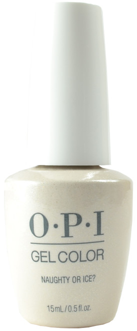 OPI Gelcolor Naughty Or Ice?