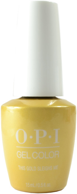 OPI Gelcolor This Gold Sleighs Me