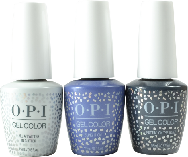 OPI Gelcolor 3 pc Shine Bright Limited Edition Trio