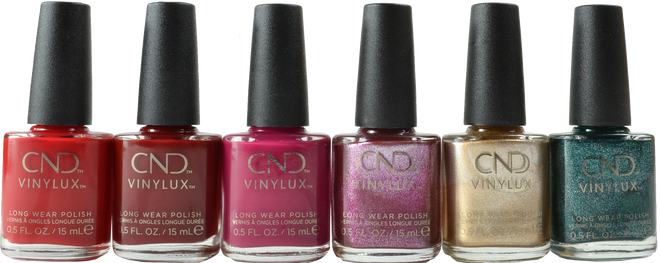 CND Vinylux 6 pc Cocktail Couture Collection