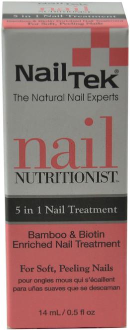 Nail Tek Nail Nutritionist - 5 in 1 Nail Treatment (0.5 fl. oz. / 14 mL)