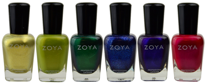 Zoya 6 pc Intriguing Collection A