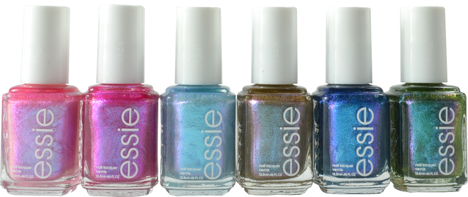 Essie 6 pc Let It Ripple Collection