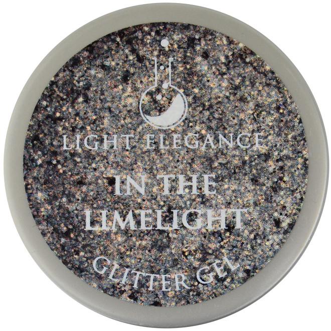 Light Elegance In The Limelight Glitter Gel (UV / LED Gel)
