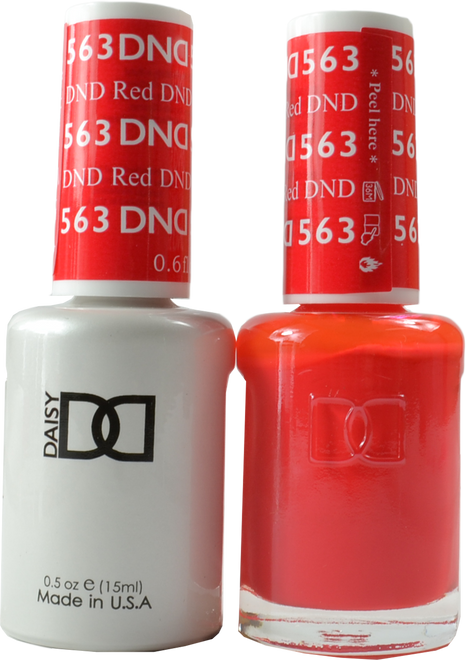 DND DND Red Duo (UV / LED Polish & Matching Lacquer)