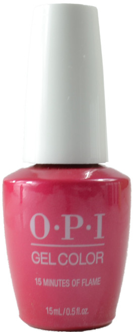 OPI Gelcolor 15 Minutes Of Flame (UV / LED Polish)
