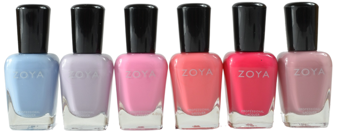 Zoya 6 pc Darling Collection