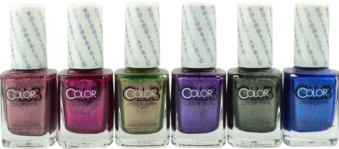 Color Club 6 pc Halo Jewels Collection