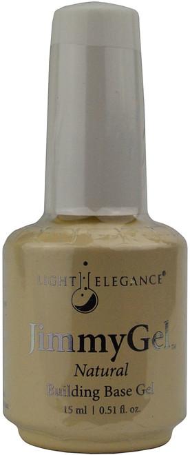 Light Elegance JimmyGel Soak Off Building Base Gel - Natural (0.51 fl. oz. / 15 mL)