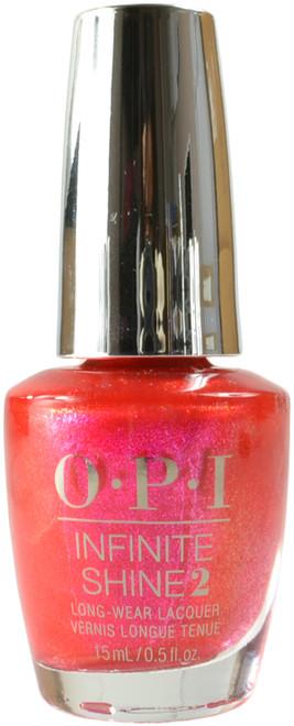 OPI Infinite Shine Strawberry Waves Forever (Week Long Wear)