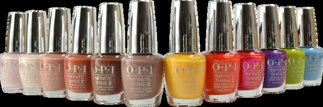 OPI Infinite Shine 12 pc Malibu Collection