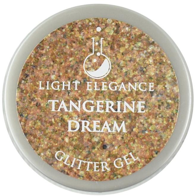 Light Elegance Tangerine Dream Glitter Gel (UV / LED Gel)