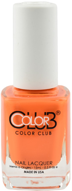 Color Club Orange You Going Tanning