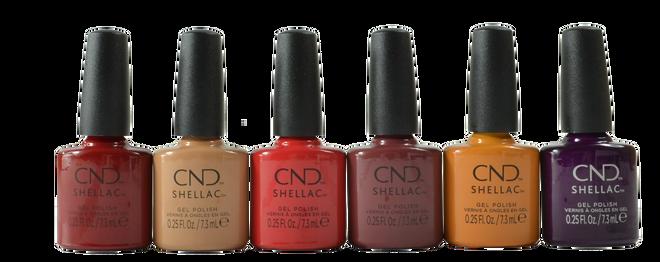 Cnd Shellac 6 pc Wild Romantics Collection