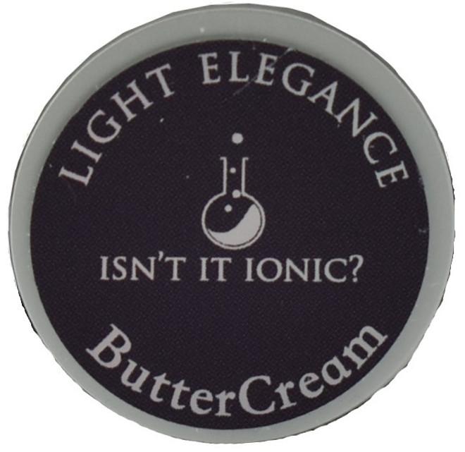 Light Elegance Isn't It Ionic? Buttercream (UV / LED Gel)