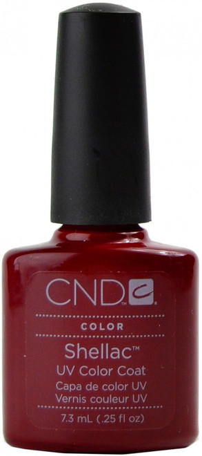CND Shellac Decadence (UV Polish) nail polish