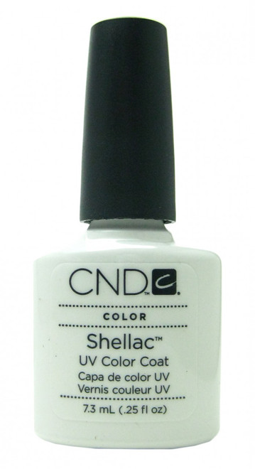 CND Shellac Studio White (UV Polish) nail polish