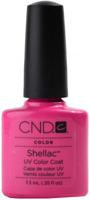 CND Shellac Hot Pop Pink (UV Polish) nail polish